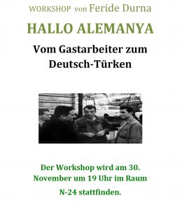 WORKSHOP - Gastarbeiter